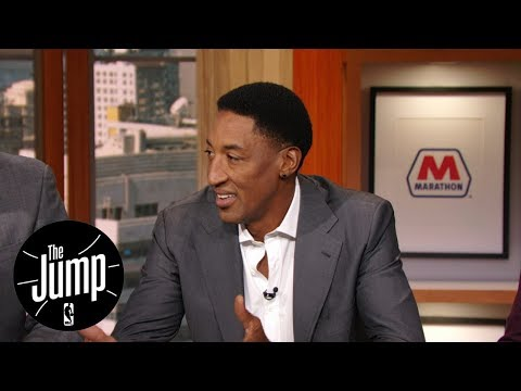Scottie Pippen on Bobby Portis-Nikola Mirotic and Michael Jordan-Steve Kerr fights | The Jump | ESPN