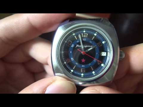 командирские часы/ komandirskie watches/
