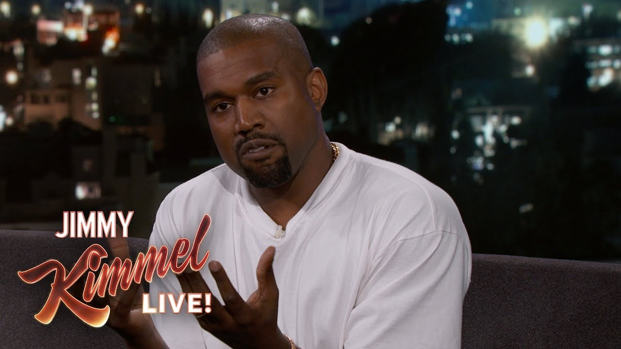 [VIDEO] - Jimmy Kimmel's Full Interview with Kanye West 7
