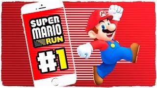 NUEVO JUEGO DE MARIO PARA iOS Y ANDROID | SUPER MARIO RUN | GAMEPLAY EN ESPAÑOL