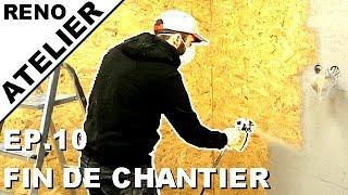 ►Je Rénove l'Atelier //EP.10// je fini les murs + Peinture à l'airless