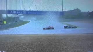 F1 2007 ヨーロッパGP 大雨による被害