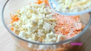 ►►   Как приготовить салат из сыра, яблок и моркови