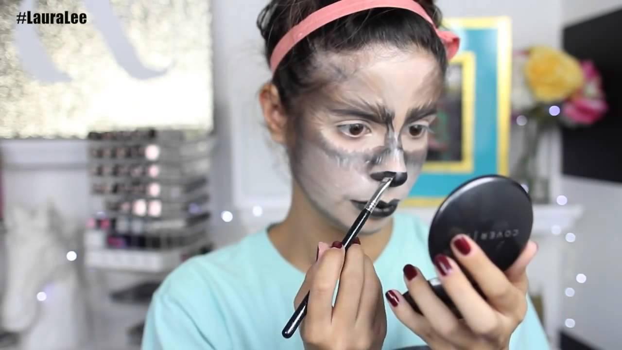 Tutorial de Maquillaje de Loba para Halloween YouTube