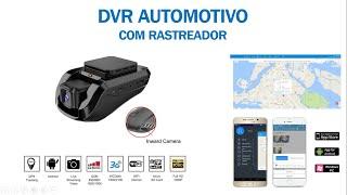 CFTV | Mini DVR Veicular com Rastreador - JC100