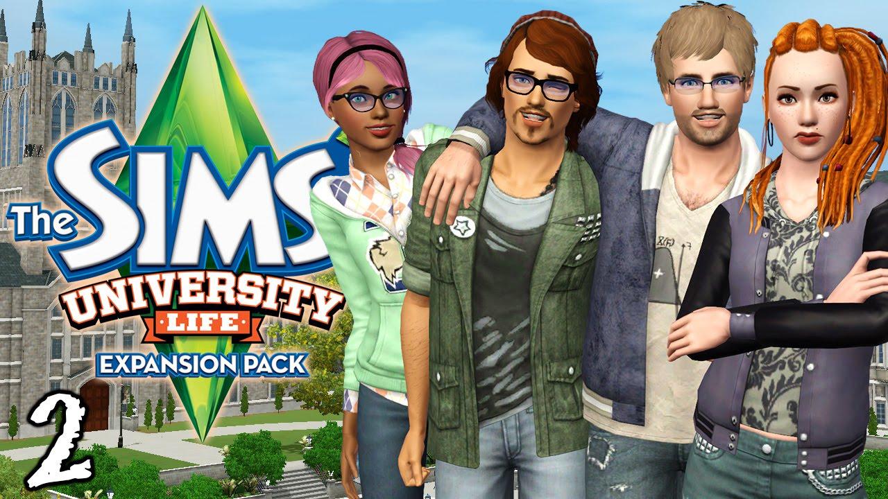 Let's Play The Sims 3 University Life - Ep. 2 - Tatoe-Tots!