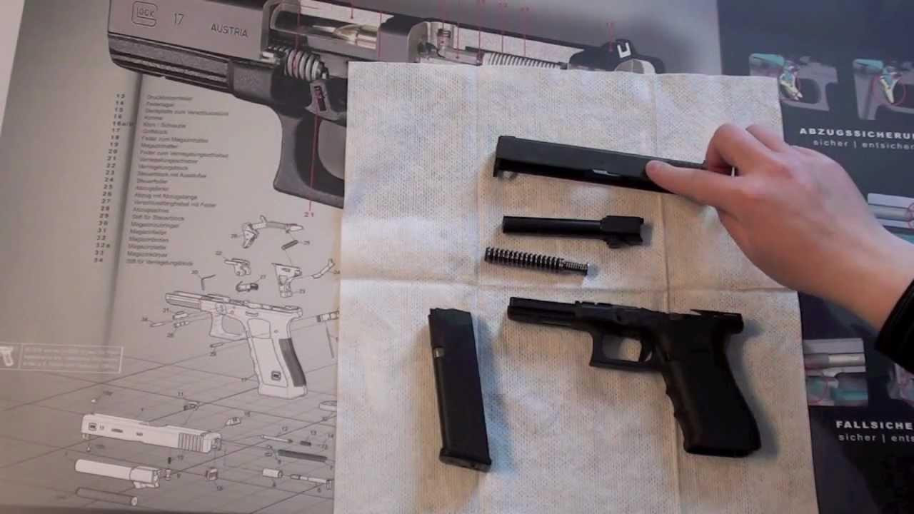 Dating einer Glockpistole