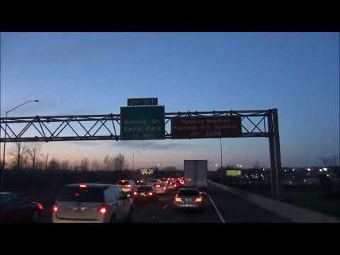 Time Lapse of Wilsonville   Portland   Washington State Line March 11, 2018