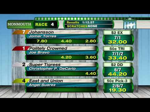 video thumbnail for MONMOUTH PARK 5-12-19 RACE 4