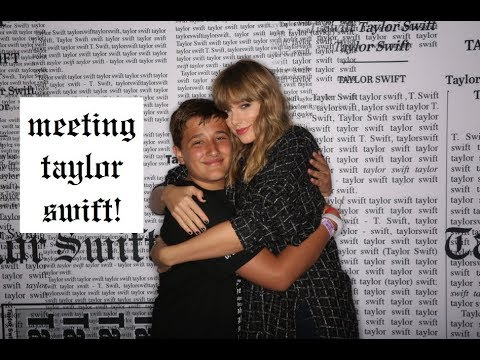 MY EXPERIENCE MEETING TAYLOR SWIFT!!!