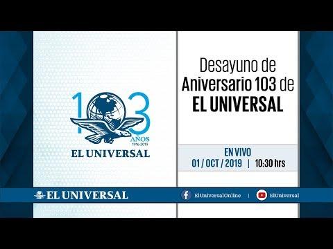 Desayuno de Aniversario 103 de EL UNIVERSAL