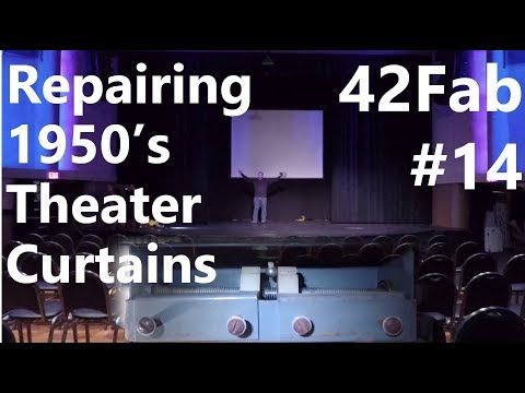 Repairing 1950's Theater Curtains and Mechanical Timer - 42Fab #14