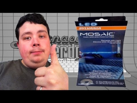 SYLVANIA Mosaic Flexible LED Light Kit - Because normal lights are for noobs