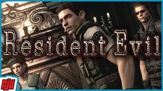 Resident Evil Part 1 | PC Horror Game Walkthrough | HD Remastered Gameplay