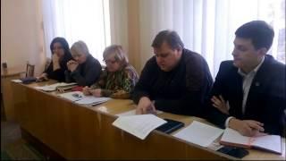Совещание в администрации города Горловка 24.01.2017