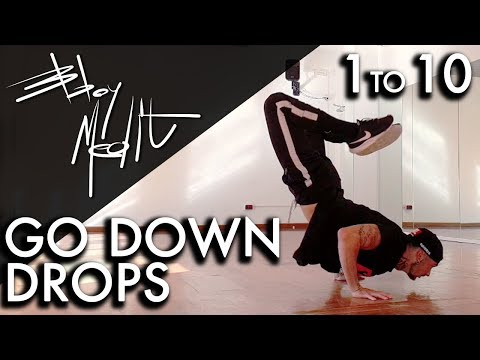 10 GO DOWN YOU MUST KNOW !!! ( DROPS ) • Breakdance Tutorial thumbnail