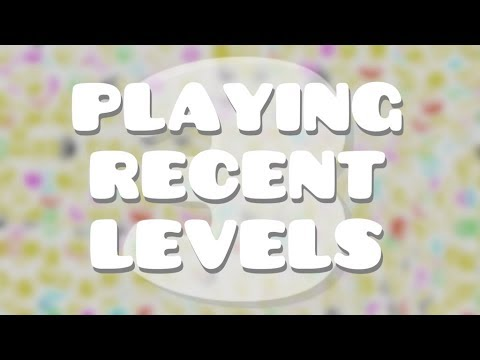 PLAYING RECENT LEVELS 3  Geometry Dash Juniper