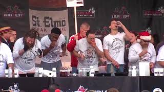 brat eating contest
