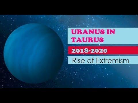Uranus in Taurus 2018-2025  The era of extremism?