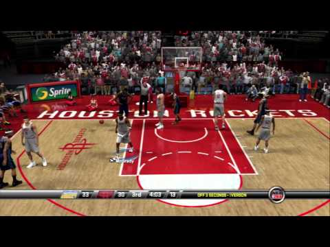 NBA 2K8 - Denver Nuggets vs Houston Rockets