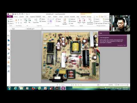 how to repair lcd monitor by ic 5L0380R (Example: monitor HP2009F)