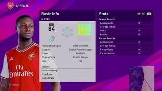 PES 2020 | Become A Legend: Nicolas Pepe!! #1