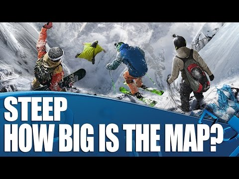 Steep on PS4 - How Big Is The Map (And What Can You Do In It?)