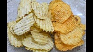 न उबालने की झंझट,न धूप में सुखाने की टेंशन मार्किट जैसी lays और अंकल चिप्स बनाये आसानी से घरपर/Chips
