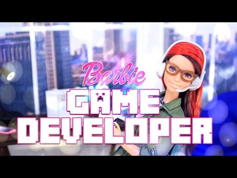 Unbox Daily: Barbie Game Developer - Doll Review - 4K