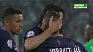 Saint Etienne vs Paris Saint Germain Highlights 2017