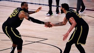 LeBron James & Anthony Davis 2020 Western Conference Playoff Highlights
