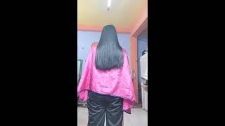 long haircut tick hair with clipper