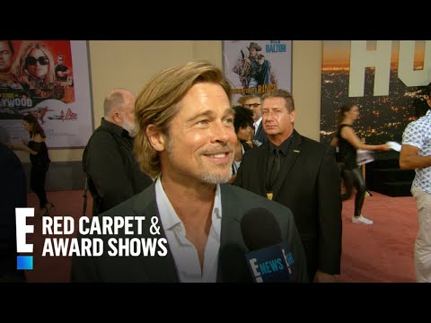 Why Brad Pitt Doesn't Want to Join Instagram | E! Red Carpet & Award Shows