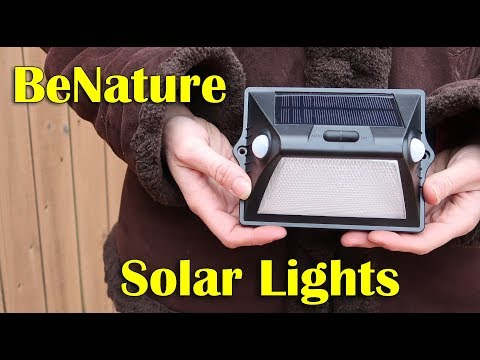 💥 SOLAR MOTION SENSOR LIGHTS BeNature ⭐(2 Pack) SECURITY (Wide Angle) Review DISCOUNT COUPON CODE👈