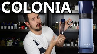 ARMANI CODE COLONIA FRAGRANCE REVIEW + Giveaway | The Forgotten Flanker