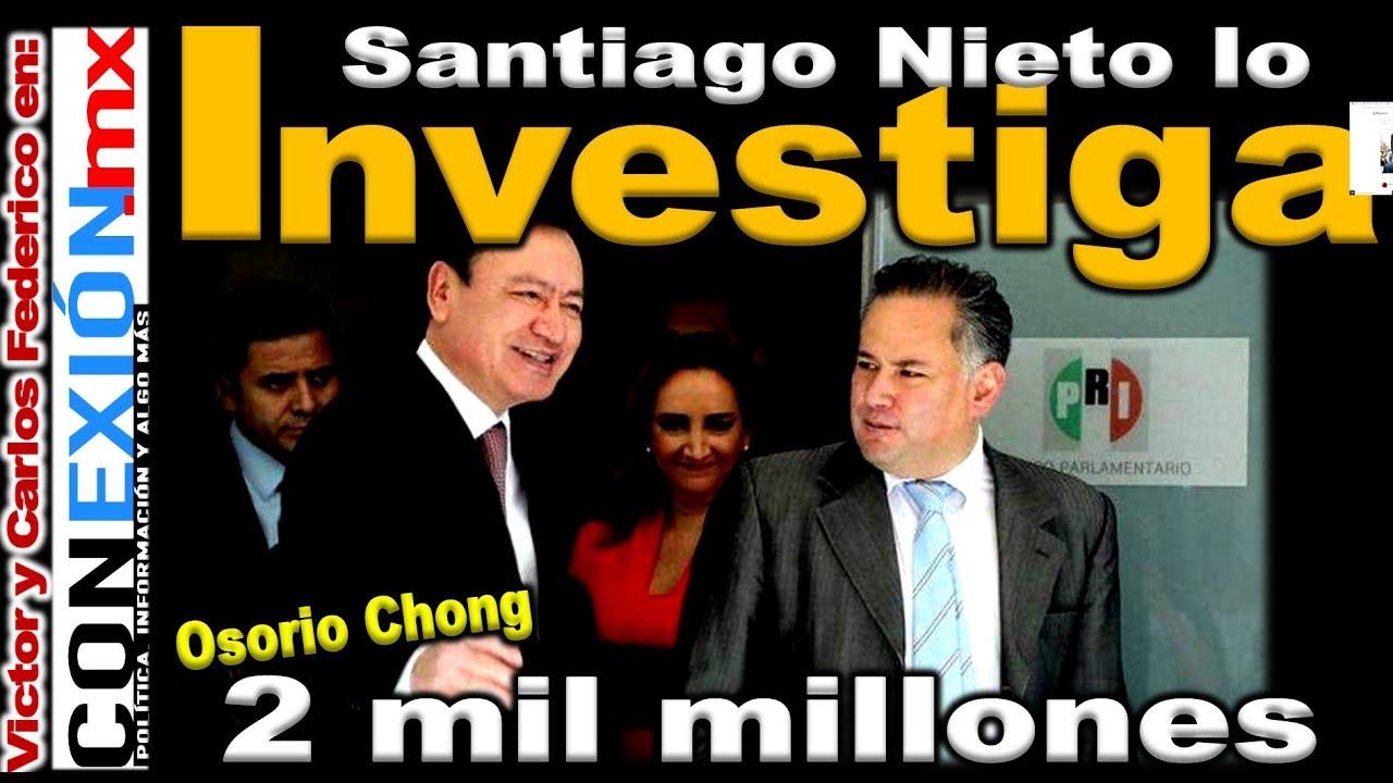 Osorio desvió recursos a García Luna; Santiago Nieto lo tiene del cuello