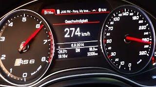 Audi RS6 C7 ABT 700hp Acceleration & Brutal Sound