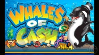 Whales of Cash casino slot game - iPhone & iPad Gameplay Video