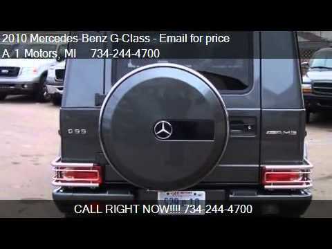 2010 Mercedes-Benz G-Class G55 AMG 4MATIC - for sale in Monr
