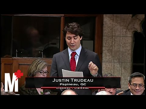 Stephen Harper's stumbling response to Justin Trudeau: March 7, 2013