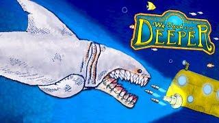 We Need To Go Deeper - Cavernas e Grande Boss Tubarão Branco, Monstros Marinhos! (#2) (PT-BR)