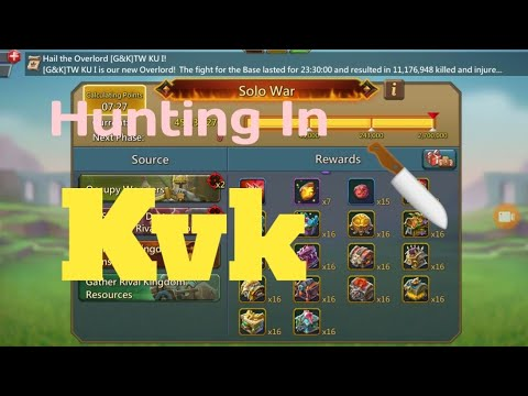 Sceret Trapping And Getting Points Kvk Lords Mobile| Lords Mobile Kvk November 2019