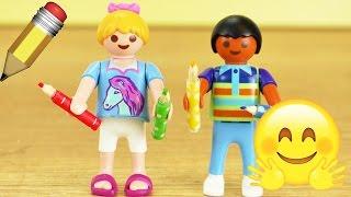 Playmobil DIY deutsch | Buntstifte selber machen für Hannah Vogel und Dave | Miniatur Stifte