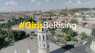 #GirlsBeRising - The female leaders of tomorrow
