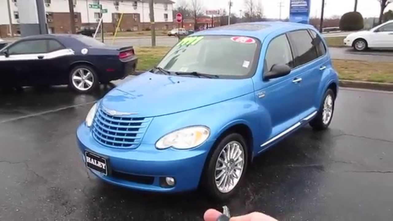 2008 Chrysler Pt Cruiser Touring Signature Walkaround  Start Up  Tour And Overview