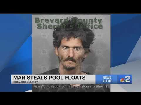 Florida Man Steals Pool Floats To 'stop Himself From Raping Women'