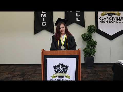 Clarksville High School 2020 Graduation