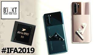Huawei Drops Kirin 990, Freebuds 3 & New P30 Pro @IFA 2019