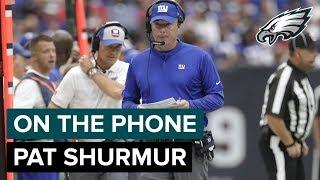 On The Phone: Giants Head Coach Pat Shurmur | Philadelphia Eagles