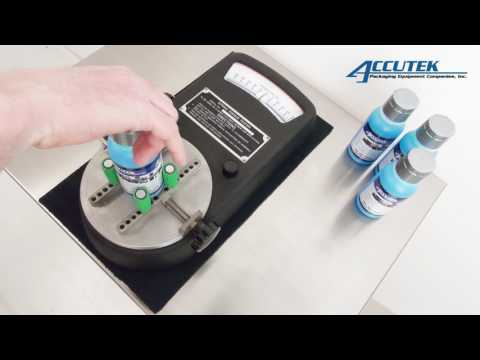 Cap Torque Tester - Accutek Packaging Equipment Companies